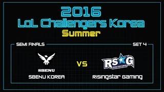 SBENU vs RSG, game 4