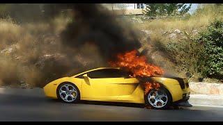 あなたの車燃えてますよ!車が炎上している画像を作れるアプリ爆誕!