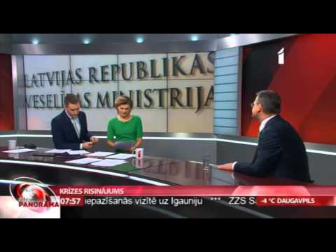 """Veselības ministrs Dr.Guntis Belēvičs intervijā LTV """"Rīta Panorāma"""""""