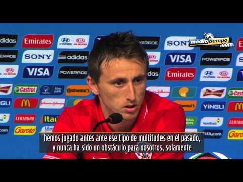 Luka Modric prende los animos previos al partido México – Croacia