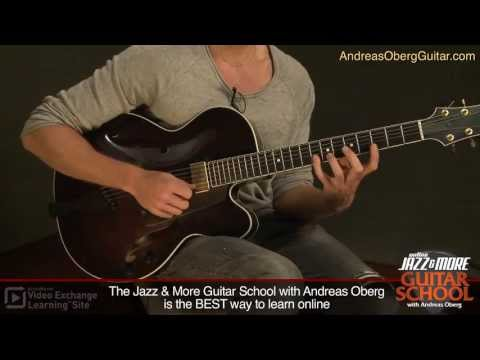 Guitar Lessons: Ghost Notes with Andreas Oberg