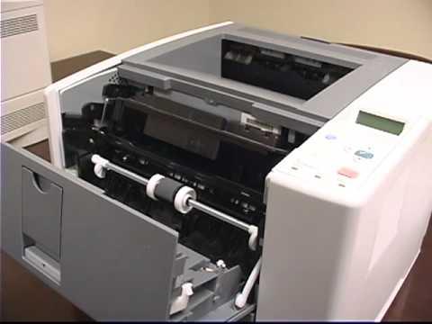HP LaserJet  P3005 Printer Overview