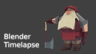 Blender Timelapse Dwarf