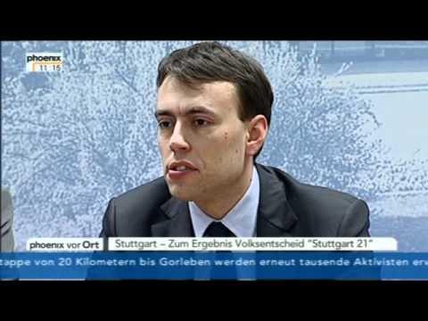 Pressekonferenz von Winfried Kretschmann und Nils Schmid