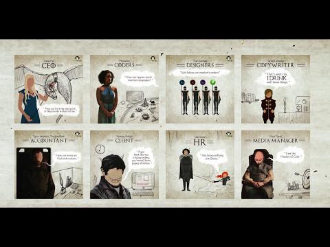 Jon Snow HR-es, Lord Varys ügyfélszolgálatos – a Trónok Harca-szereplők, mint ügynökségi dolgozók