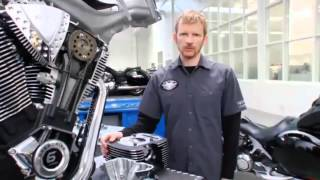 2. 2012 Victory Motorcycles technical explanation Freedom engine 106 ci.