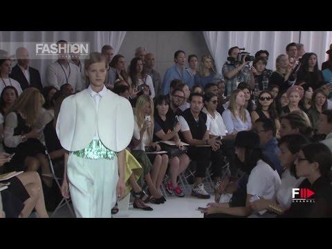 Смотреть онлайн о моде: DELPOZO Spring 2016 Full Show New York by Fashion Channel