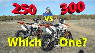 10. 250 vs 300 2 Stroke Dirt Bike | Which One Should YOU Get??