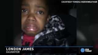 Crying 4-year-old: They don't like me because I'm black