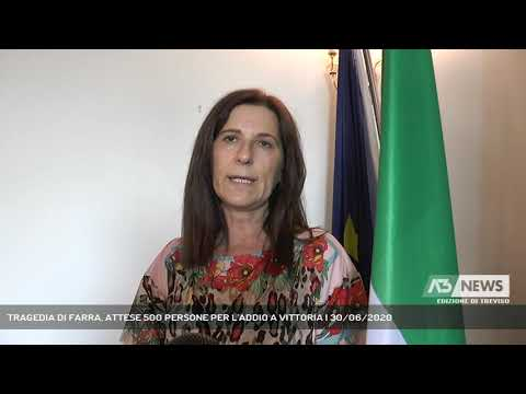 TRAGEDIA DI FARRA, ATTESE 500 PERSONE PER L'ADDIO A VITTORIA | 30/06/2020