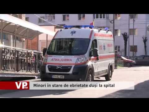 Minori în stare de ebrietate duși la spital