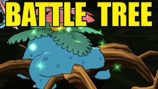 VENUSAUR PP STALL! Pokemon Sun and Moon BATTLE TREE HAX! by Verlisify