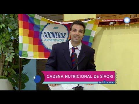 Cadena nutricional, Sívori en contra de la mala alimentación