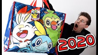 Opening The Pokémon Center 2020 Lucky Bag by Unlisted Leaf