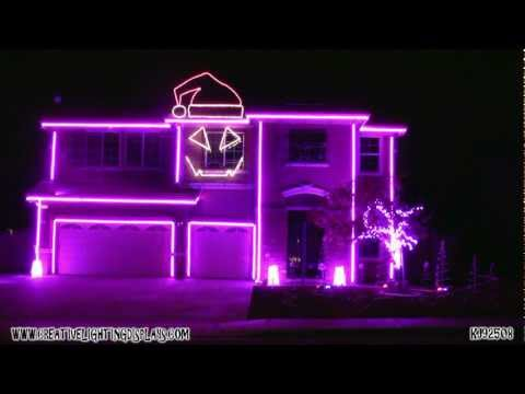 Christmas Light Show 2011 - LMFAO Sexy and I Know It