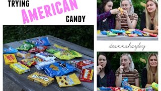NEW ZEALANDER TRIES AMERICAN CANDY ♡ deannahayley
