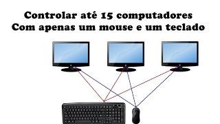 Aprenda como controlar de 2 a 15 computadores com apenas um mouse e um tecladoDownload: http://bit.ly/2u0Xr8j