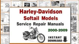 8. Harley-Davidson Softail Models Service Repair Manuals 2000-2009 PDF