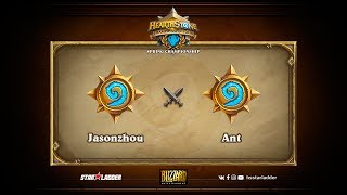 Jasonzhou vs Ant, game 1