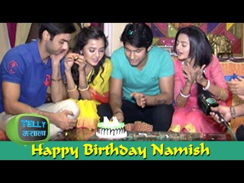 Namish Taneja aka Lakshya Cuts His Birthday Cake |