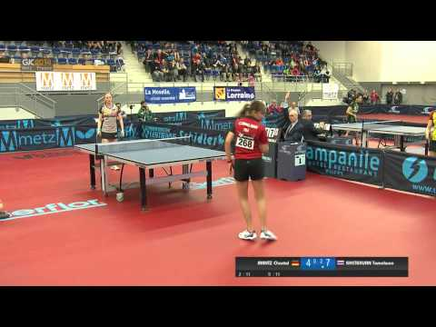 2014 French Junior & Cadet Open - Junior Girls Semi-Final
