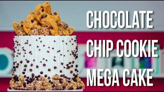 Video How To Make a CHOCOLATE CHIP COOKIE MEGA CAKE! With GIANT COOKIES & COOKIE BUTTER Buttercream! MP3, 3GP, MP4, WEBM, AVI, FLV Maret 2018