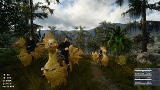 Video gameplay - Utilizzo dei Chocobo e pesca