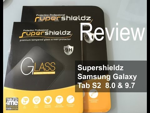 Samsung Galaxy Tab S2 8.0 & 9.7 Tempered Glass Screen Protector