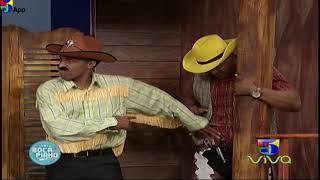El Sheriff Mata y el Ladron de Bancos Boca de Piano Es Un Show