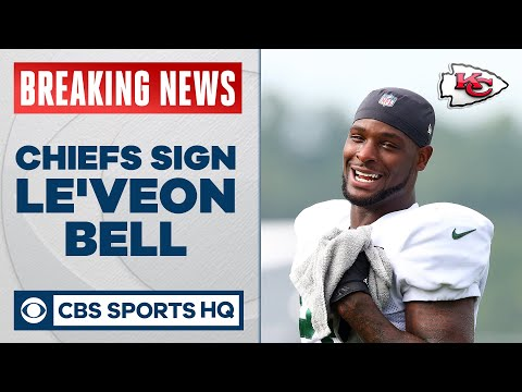 Chiefs sign Le'Veon Bell to a 1 year deal as ex-Jet prioritizes winning, per report | CBS Sports HQ
