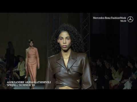 Mercedes-Benz Fashion Week Tbilisi SS 20 / ALEKSANDRE AKHALKATSISHVILI видео