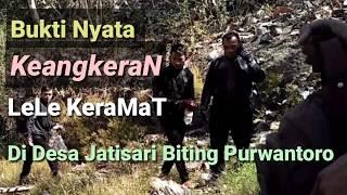 Bukti Keangkeran Lele Keramat di desa Jatisari Biting Purwantoro