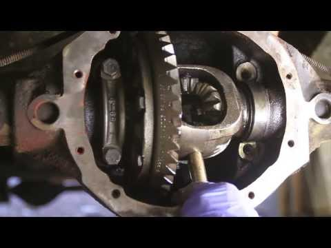 How To Remove a C-Clip Axle Shaft