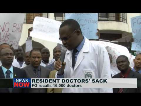 Nigerian  government recalls sacked Resident Doctors