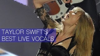 Taylor Swift's Best Live Vocals