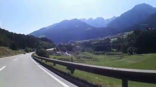 Fulpmes Austria  City pictures : Fulpmes - dojazd z autostrady do miasteczka, Tyrol, Innsbruck-Land. Austria.