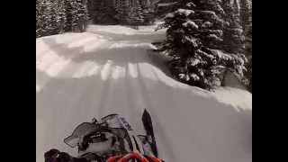 10. 2013 polaris RMK riding trails
