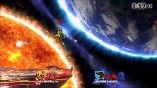 The Golden Falcon – A Captain Falcon SSB4 Combo/Highlight Video – Xpost from /r/smashbros