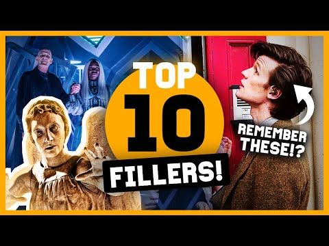 TOP 10 Filler Episodes! (from Doctor Who)