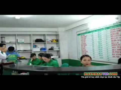 Clip hài Gọi điện thoại trêu em ở Tổng đài taxi Mai Linh Huế