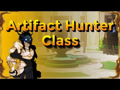 AQW - How to Use Artifact Hunter Class