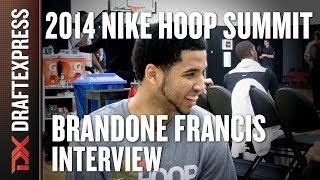 Brandone Francis - 2014 Nike Hoop Summit - Interview