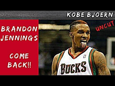 Brandon Jennings ist zurück!! 16 Punkte, 8 Rebounds, 12 Assists - KobeBjoern uncut