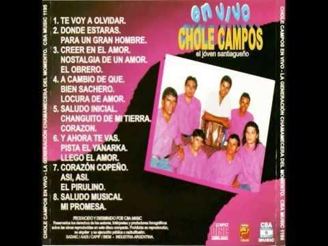Chole Campos en vivo