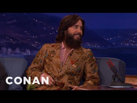 Jared Leto Lives In A Former Top-Secret Air Force Base  - CONAN On TBS