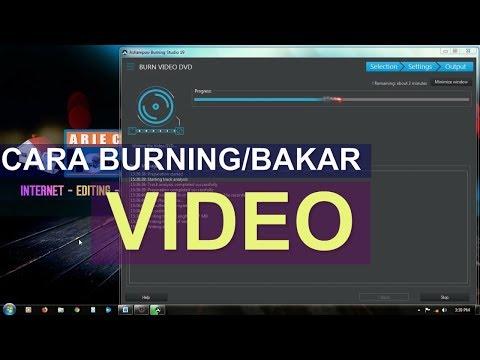 Cara Burning Video #Ashampoo Burning Studio
