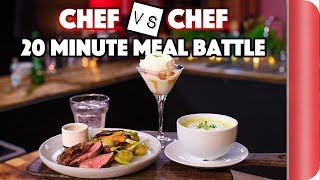 Chef vs. Chef ULTIMATE 20 MINUTE BATTLE by SORTEDfood