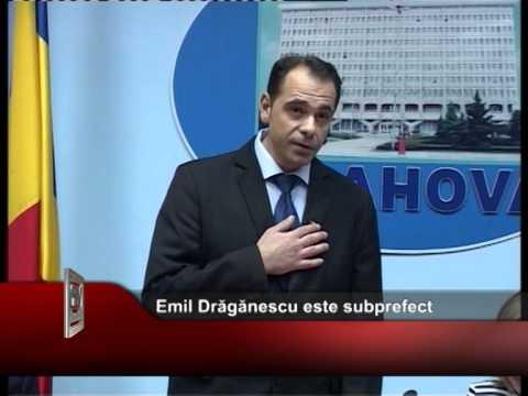 Emil Drăgănescu este subprefect