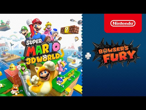 Super Mario 3D World + Bowser's Fury comes to Nintendo Switch on February 12th, 2021!