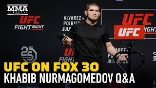 Video Khabib Nurmagomedov Says UFC Gave Him Security in Case Conor McGregor Shows Up in Calgary MP3, 3GP, MP4, WEBM, AVI, FLV Februari 2019